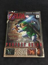 Magazine Versus Books Zelda Ocarina Of Time Perfect Guide + Stickers
