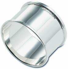 NEW - Sterling Silver - NAPKIN or Serviette RING - Boxed - Straight