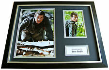 BEAR GRYLLS Signed FRAMED Photo Autograph 16x12 Display ESCAPE FROM HELL TV COA
