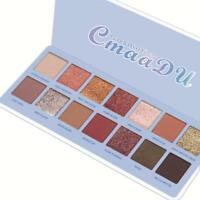 14 Colors Eye Shadow Palette Shimmer Matte Glitter Powder Cosmetic Makeup Set