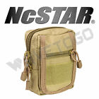 VISM NcSTAR Tactical Accessory MOLLE PALS Small Utility Storage Tool Pouch Tan