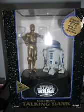Star Wars Talking Bank- R2 D2 Cp30 New Vintage