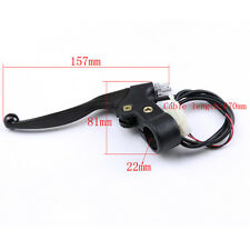 Black Motorcycle Hand Control Brake Clutch Levers Fit Chinese electric scooter