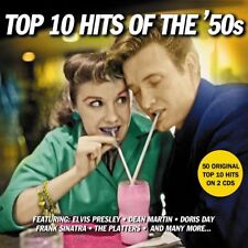 50 Original Top 10 Hits TOP 10 HITS OF THE '50s  2 x CDs
