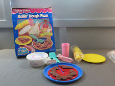 Vintage Fisher Price Fun With Food ROLLIN' DOUGH PIZZA #2176