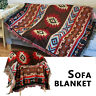 Large Bohemian Sofa Bed Throws Blanket Chair Bedspread Settee Covers Cotton