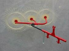 New Enorossi 3 Wheel 3 Pt Hay Rake Free 1000 Mile Free Delivery From Kentucky
