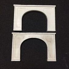 Concrete Tunnel Portal pair, Double,  N Scale #2