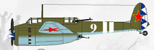 Su-8 Sukhoi Shturmovik Long Range Plane Wood Model Big