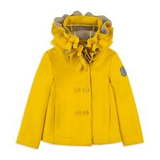 Monnalisa Yellow Coat 2018 Age 9 Worn Oncw Look!
