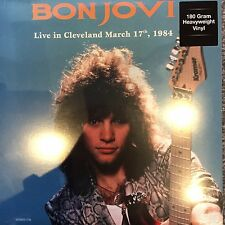 "BON JOVI ""Live In Cleveland March 17th 1984"" NEW / SEALED 180 GRAM VINYL LP"