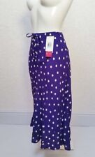 Flare Purple Skirts for Women