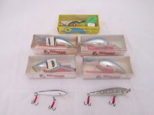 1 Rabble Rouser Doug Parker DI-DAPPER Lure 4 Bill Norman Lures 2 Minnow Lures