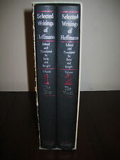 1st Edition SELECTED WRITINGS E.T.A. Hoffmann SET 2V First Printing CLASSIC
