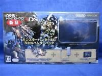 New Nintendo 3DS LL Monster Hunter 4 G New Hunter Pack Japan game F/S