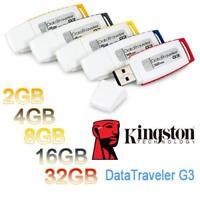 Kingston DTI G3 Pen UDisk USB 2.0 Flash Drive Memory Stick 2G 4G 8G 16G 32G 64G