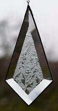 Bleiverglasung Fensterbild Suncatcher Facetten- Tropfen eisblum.  in Tiffany