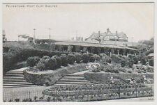 Suffolk postcard - Felixstowe, West Cliff Shelter