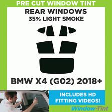 Pre Cut Window Tint - BMW X4 (G02) 2018+ - 35% Light Rear