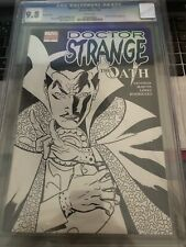 Doctor Strange The Oath # 1 CGC 9.8 12/06 Variant Sketch Cover App Iron F{CGCB2}