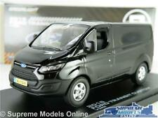 FORD TRANSIT CUSTOM MODEL VAN BLACK 1:43 SCALE SERIES 1 MK1 GREENLIGHT V362 K8
