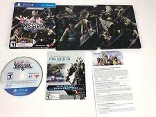 Dissidia Final Fantasy NT Steelbook Cloud Kefka Terra Edition w/ Slipcover PS4