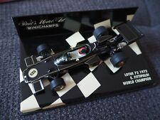 Minichamps 1:43 Emerson Fittipaldi Weltmeister World Champion 1972 Lotus Ford
