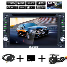 Autoradio Navigation MIT Doppel 2DIN GPS Navi Bluetooth USB MP3 DVD CD TF 6.2''
