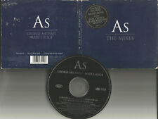 GEORGE MICHAEL & MARY J. BLLIGE As w/ 2 RARE MIXES Europe CD Single USA seller