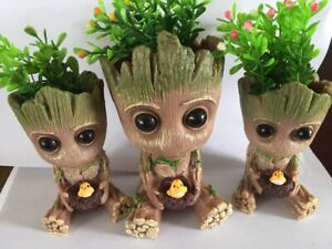 Baby Groot Flowerpot Treeman Succulent Planter Plants Flower Pot Guardians Galax