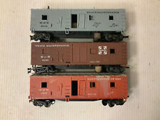 B17- Revell HO Scale Track Cleaning Cars Lot Of 3