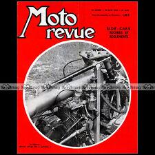MOTO REVUE N°1696 WANKEL SIDE-CAR BEDNAR BERT LUNDIN JACKY PORTE GRAND PRIX 1964