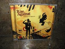 2008 RISE AGAINST Appeal to Reason CD _ SAVIOR Long Forgotten Sons _ NEW!