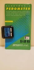 Pedometer Sportline Electronic 342 Spring Clip Hip Attachment