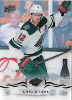2018-19 Upper Deck SERIES 1 Eric Staal #90 UD Clear Cut Acetate Hockey Card