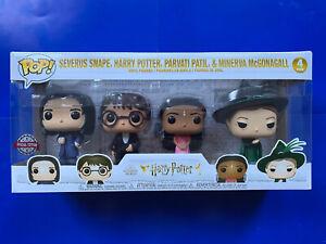 Funko Pop! Harry Potter - 4 Figure Special Edition Pack - Pop Vinyl