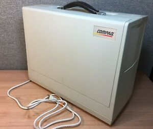 Vintage Compaq Portable Luggable Personal Computer