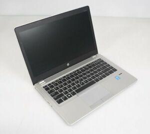 """HP EliteBook Folio 9480m 14"""" Intel i7-4600U 2.1GHz 8GB DDR3 WIN10COA Fair No HDD"""