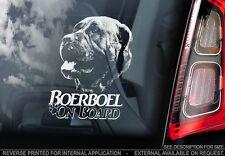 Boerboel - Car Window Sticker - Dog Sign -V09