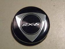"""Mazda RX-8 center cap  hubcap   712734 (1), black, 2.25"""" wide"""