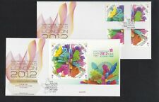 China Hong Kong 2012  FDC set London Olympic Game Stamps