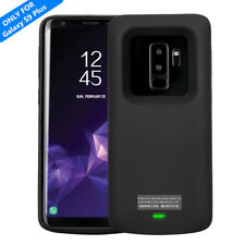 For Samsung Galaxy S9 Plus External Charger Case Battery Backup Magnetic Cover