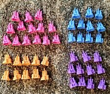Monopoly Jr Disney Princess Castles 46 Replacement Parts Pieces CAKE TOPPERS