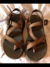 Brown And Orange Chaco Sandals, Size 7 M7 W9