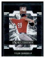 2009 Donruss Elite Extra Edition Baseball Card #21 Tyler Skaggs Rookie Card RC!!