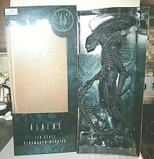 "Neca ALIENS 1/4 Scale 22"" Xenomorph Warrior Blue Figure 1986 Version Aliens"