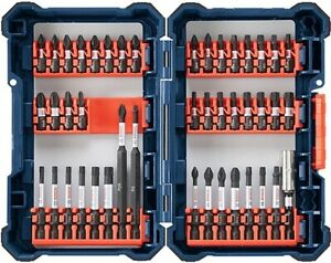 New Bosch 44pc SDMS44 impact rated screw nut assorted driver bits set heavy duty