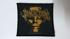 Benediction 1995 group logo vintage music patch metal RARE