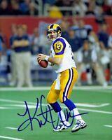 Kurt Warner Signed Autographed 8 x 10 Photo ( RAMS HOF ) REPRINT