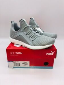 PUMA Women's Mega NRGY Cross Athletic Training Sneaker Grey